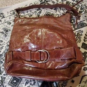Latica nj usa brown leather purse hobo